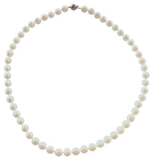 Other Elegant Genuine Ivory Freshwater Pearl Necklace