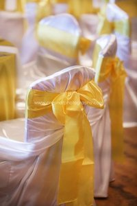 299 Yellow Satin Sashes