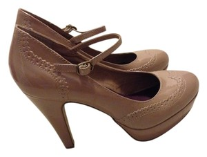 Madden Girl Beige Platforms