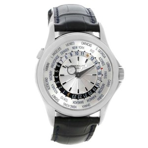 Patek Philippe Patek Philippe World Time Complications 18k White Gold Watch 5130