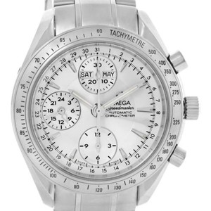 Omega Omega Speedmaster Silver Dial Automatic Day Date Mens Watch 3523.30.00