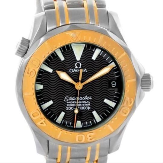 Preload https://item5.tradesy.com/images/omega-omega-seamaster-midsize-steel-18k-yellow-gold-black-dial-watch-5690014-0-0.jpg?width=440&height=440