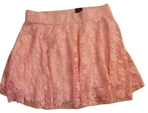 Hollister Mini Skirt Pink