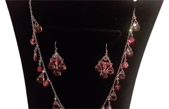 Stunning necklace set *SALE*Stunning silver necklace earing set