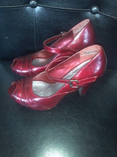 Other Maroon Pumps