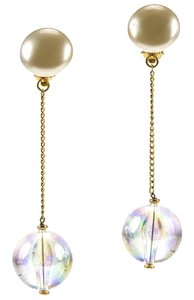 Chanel Chanel Lucite Ball Earrings