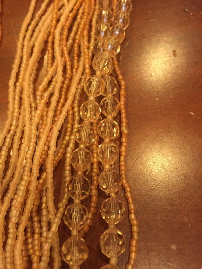 Other Peachy beige necklace