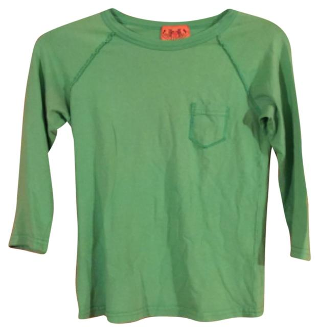 Preload https://item5.tradesy.com/images/juicy-couture-green-t-shirt-5693134-0-0.jpg?width=400&height=650
