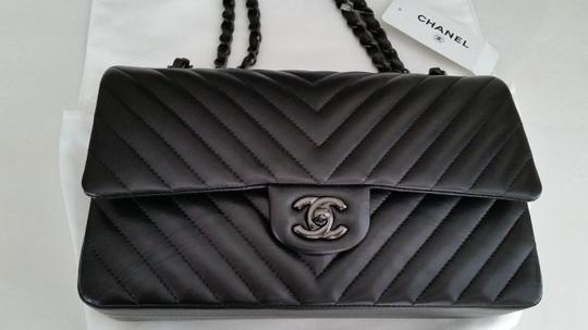 Chanel Classic Flap So Chevr Shoulder Bag