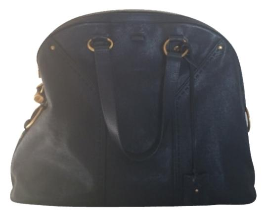 Preload https://item1.tradesy.com/images/saint-laurent-muse-navy-blue-leather-satchel-5693875-0-0.jpg?width=440&height=440