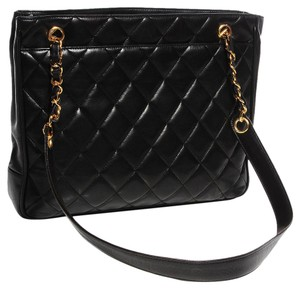 Chanel Vintage Tote Shoulder Bag