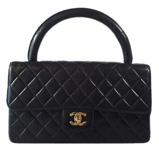 Chanel Vintage Quilted Leather Handbag Shoulder Bag