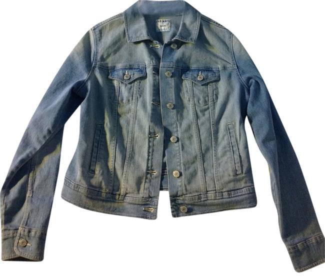 Old Navy Light wash Womens Jean Jacket