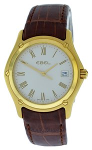 Ebel Ebel Classic 8255F41 Solid 18K Yellow Gold Quartz Date Watch
