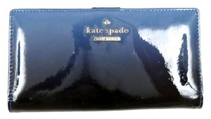 Kate Spade KATE SPADE Cedar Street STACY Patent Leather Ombre Cosmic Blue Wallet NWT $128
