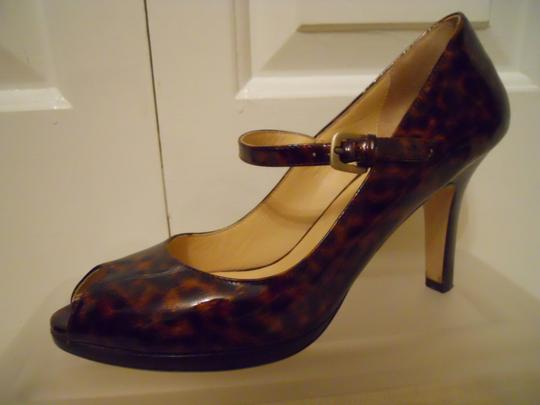 Cole Haan Leather black & brown Pumps