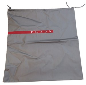 Prada Plastic PVC Dust Bag Or Cover For Shoes Or Bag