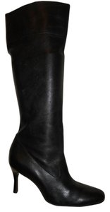 Antonio Melani Leather Knee black Boots