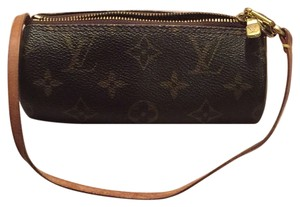 Louis Vuitton Lv Designer Papillon Cosmetic Accessory Monogram Clutch