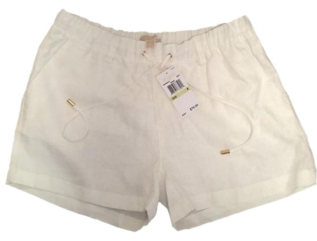 Michael Kors Cuffed Shorts White