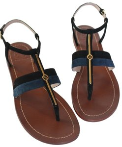 Tory Burch TORY NAVY BLACK Sandals