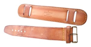 Louis Vuitton Louis Vuitton Strap Padding and Leather Luggage Loop Belt Strap