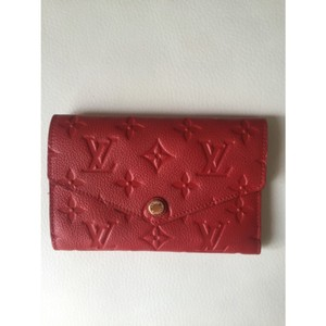 Louis Vuitton Louis Vuitton Compact Curieuse Wallet Empreinte Leather