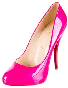 Christian Louboutin Bright Patent Pink Pumps