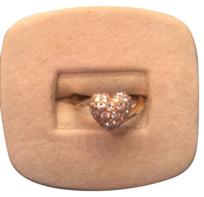 Item - Gold Heart - 18k and Diamonds Ring