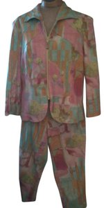 Juliana Collezione Beautiful 2 piece capri pantsuit