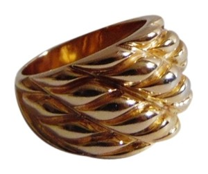 Technibond Technibond Ripple Design Dome Ring Size 8 HSN