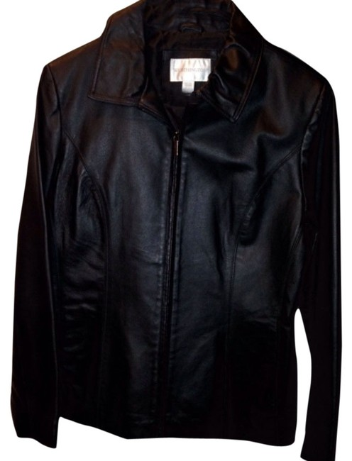 Worthington Blac Leather Jacket