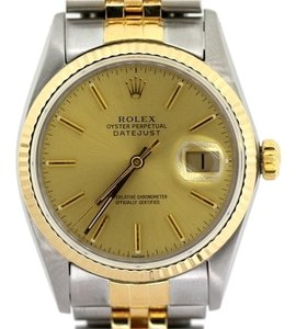 Rolex MEN'S ROLEX DATEJUST TWO TONE