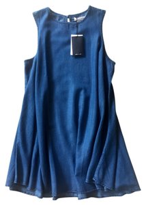 Native Youth short dress Indigo blue on Tradesy