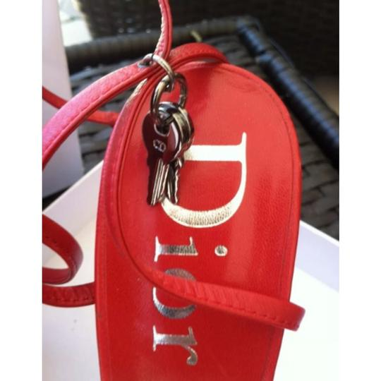 Dior Red Sandals