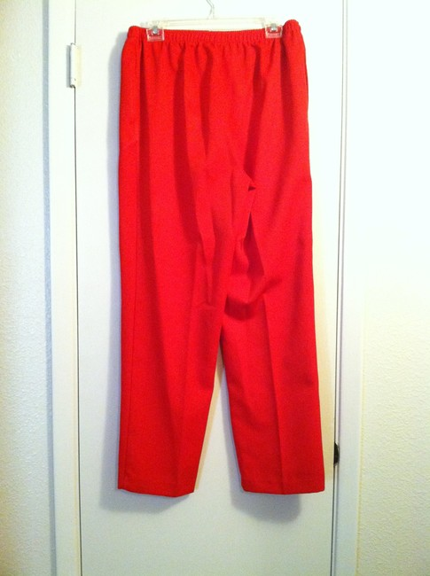 Draper's and Damon's Trouser Pants red