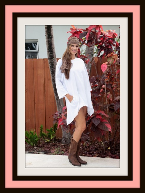 Lirome Bohemian Chic Crochet Embroidery Tunic