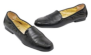Bruno Magli Loafer Leather Black Flats