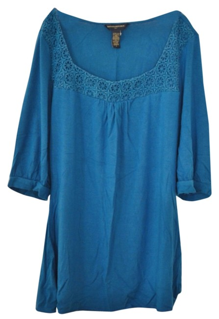 Preload https://item4.tradesy.com/images/banana-republic-blue-square-neck-blouse-size-4-s-5706343-0-0.jpg?width=400&height=650