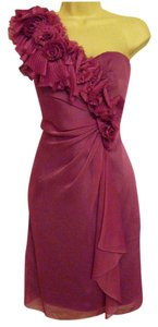 Adrianna Papell Fuchsia (plum) Knee-length Dress