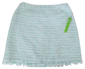 Alice + Olivia Mini Skirt Light blue