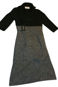 willow glenn short dress Black and Grey on Tradesy