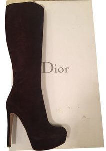 Dior Fashion - Knee-high Brown Boots