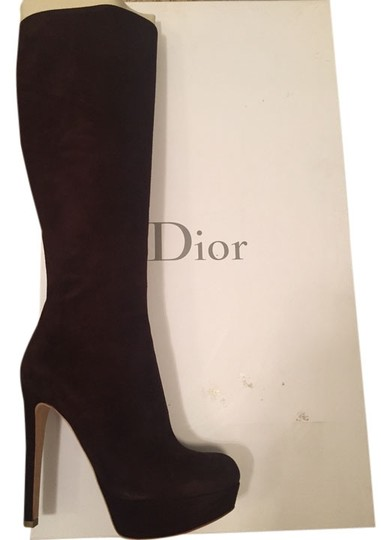 Preload https://item4.tradesy.com/images/dior-fashion-knee-high-brown-boots-5708053-0-3.jpg?width=440&height=440