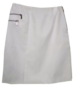 Versace Modern Design Skirt Bone White