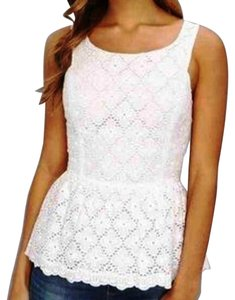 Lilly Pulitzer Blogger Fashion Runway Top White