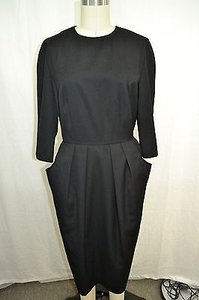 Neiman Marcus short dress Black Vintage 34 Sleeve Shell on Tradesy