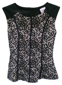 infinito Top black, cream