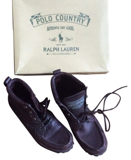 Ralph Lauren Polo Country Brown Boots