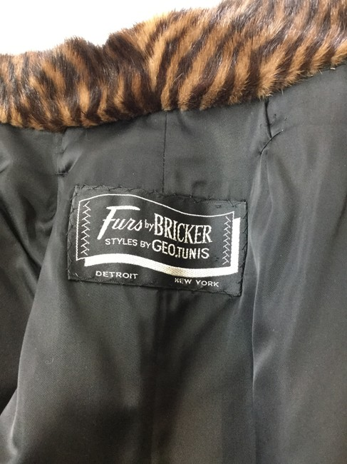 Bricker and Geo-Tunis Fur Coat